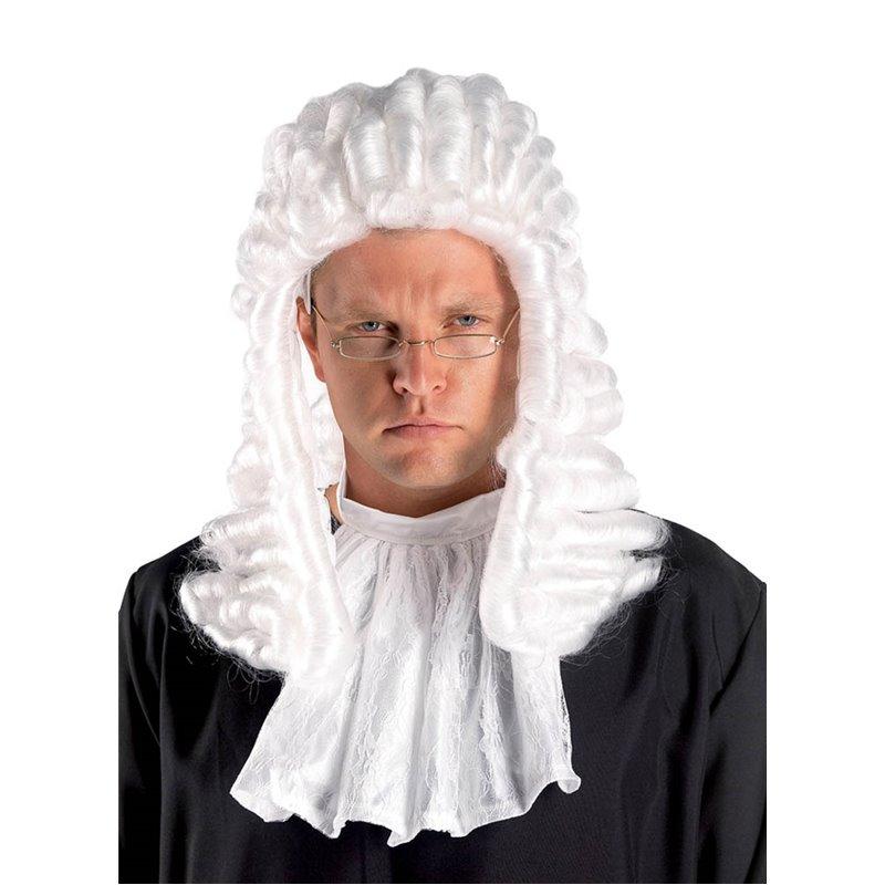 Αποκριάτικο Αξεσουάρ Περούκα Δικαστή