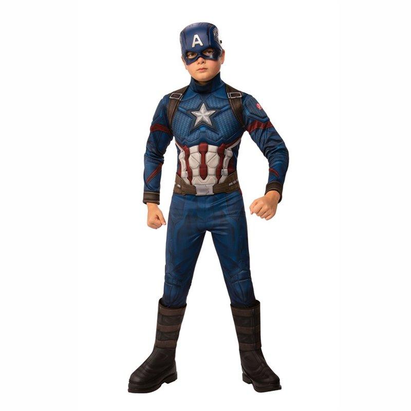 Αποκριάτικη Στολή Captain America Deluxe