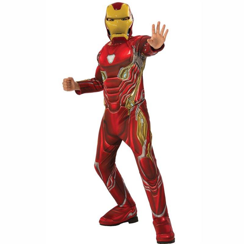 Αποκριάτικη Στολή Iron Man Deluxe