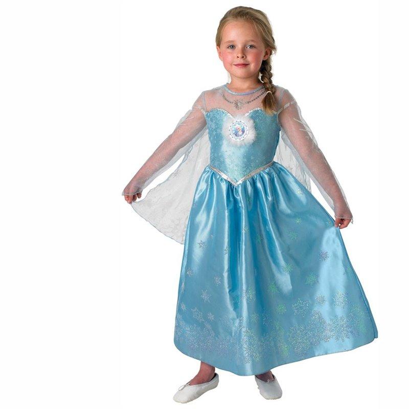 Αποκριάτικη Στολή Frozen Elsa Deluxe