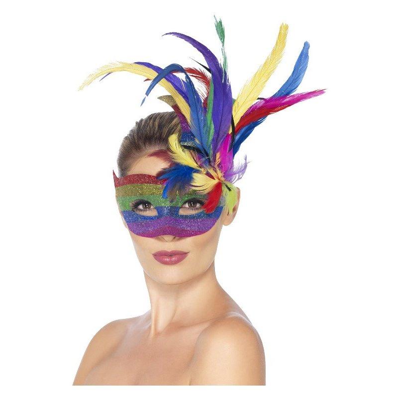 Αποκριάτικο Αξεσουάρ Μάσκα Ματιών Βασίλισσα Καρναβαλιού