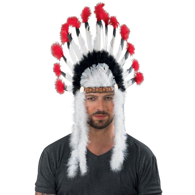 Αποκριάτικο Αξεσουάρ Καπέλο Ινδιάνου Αρχηγού 75 εκ.