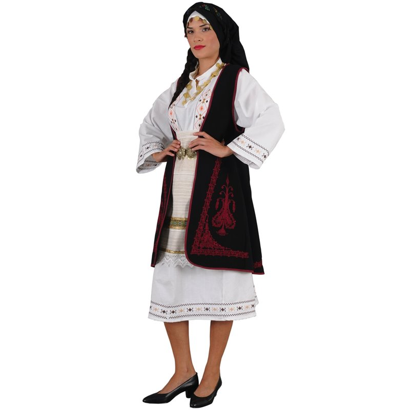Παραδοσιακή Στολή Σουλιώτισσα