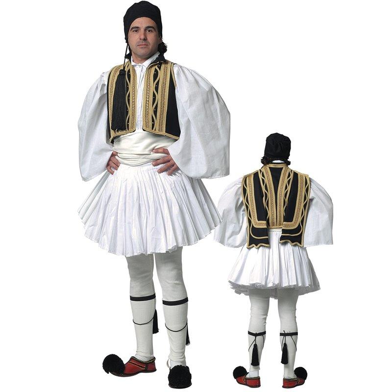 Παραδοσιακή Στολή Εύζωνας Μαύρος