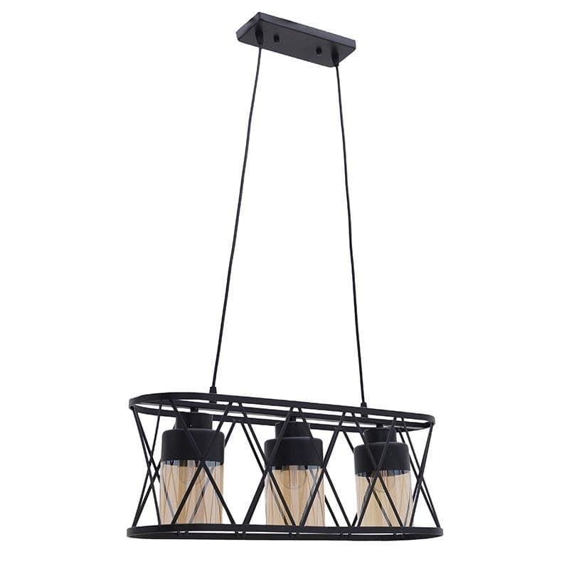 Φωτιστικό Οροφής Μέταλλο 60x18x22 εκ.