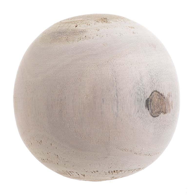 Διακοσμητική Μπάλα Ξύλινη φ11 εκ.