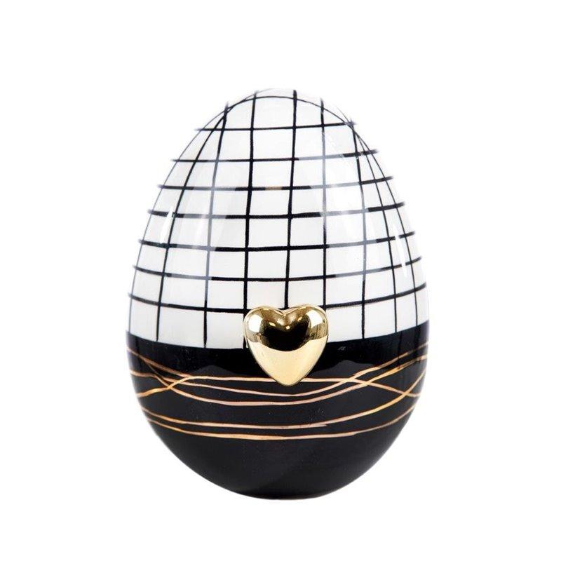 Πασχαλινό Διακοσμητικό Αυγό Κεραμικό 15 εκ.