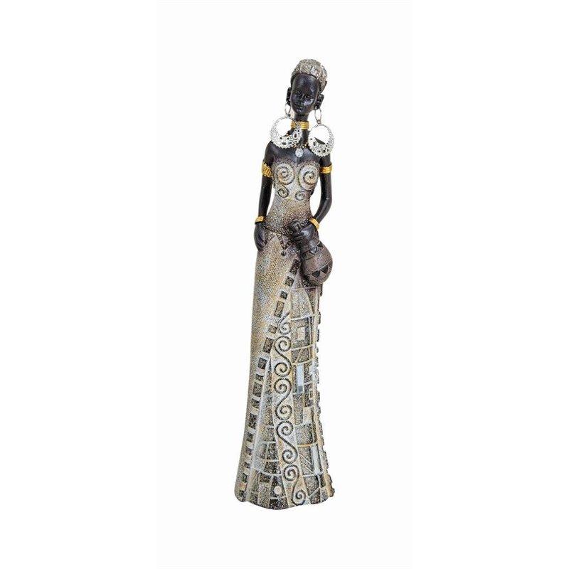 Διακοσμητικό Αγαλματίδιο Αφρικάνα 23 εκ.