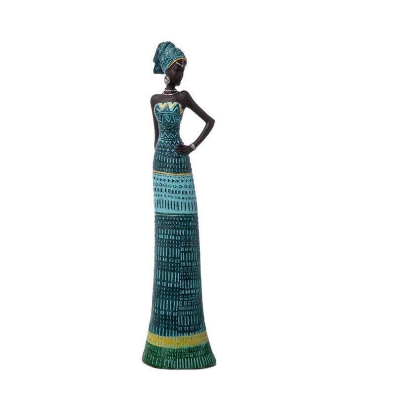Διακοσμητικό Αγαλματίδιο Αφρικάνα 41 εκ.