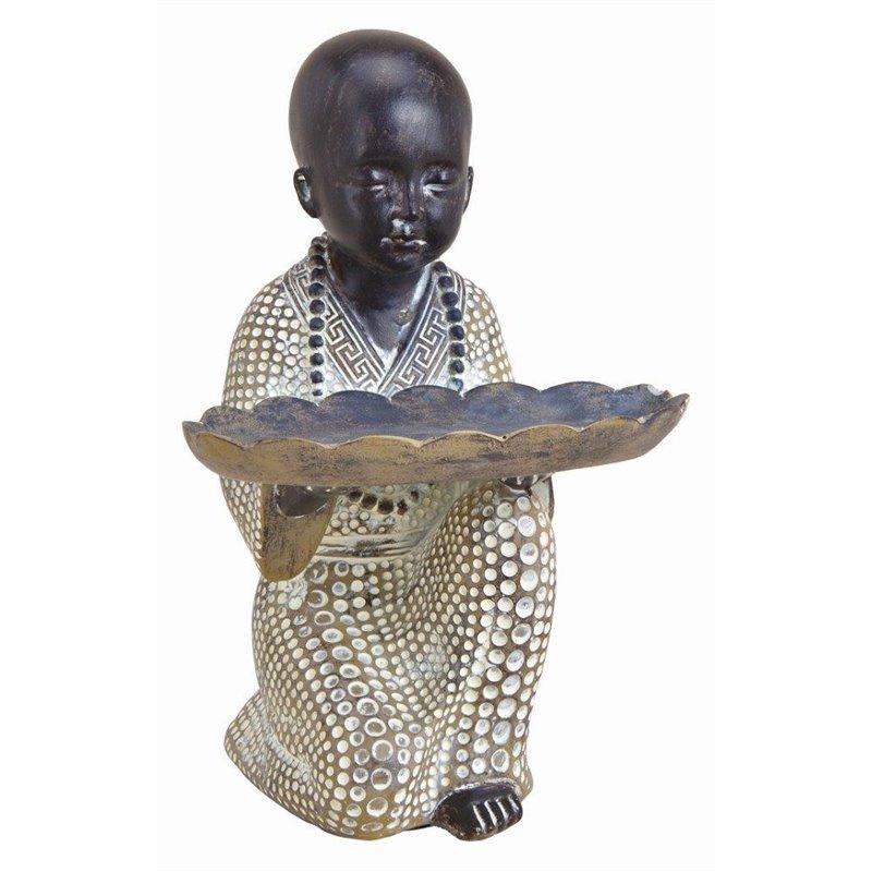 Διακοσμητικό Αγαλματίδιο Μοναχός 15 εκ.