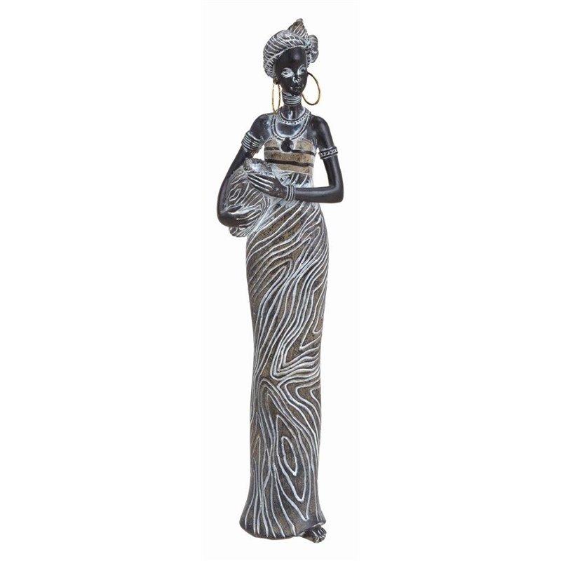 Διακοσμητικό Αγαλματίδιο Αφρικάνα 38 εκ.