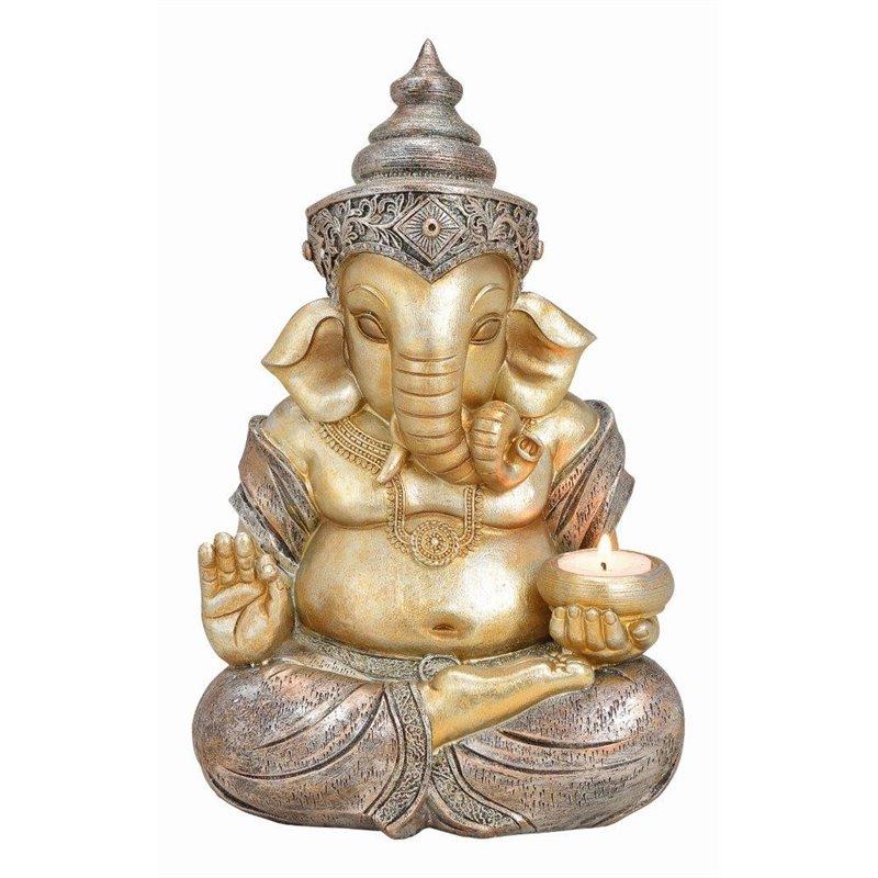 Διακοσμητικό Αγαλματίδιο Ελέφαντας 31 εκ.