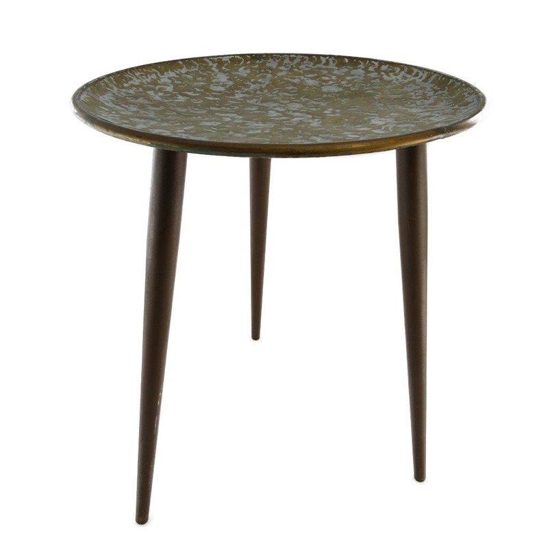 Τραπέζι Στρογγυλό Μεταλλικό φ45x 53 εκ.