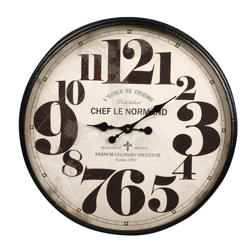 Διακοσμητικό Ρολόι Τοίχου Μεταλλικό φ80 εκ.