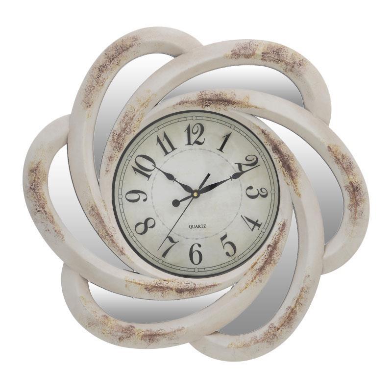 Διακοσμητικό Ρολόι Τοίχου Πλαστικό φ50 εκ.