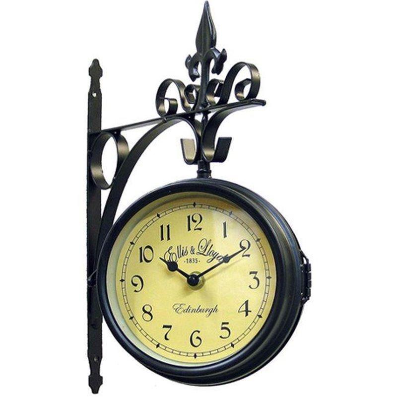 Διακοσμητικό Ρολόι Τοίχου Μεταλλικό φ32 εκ.
