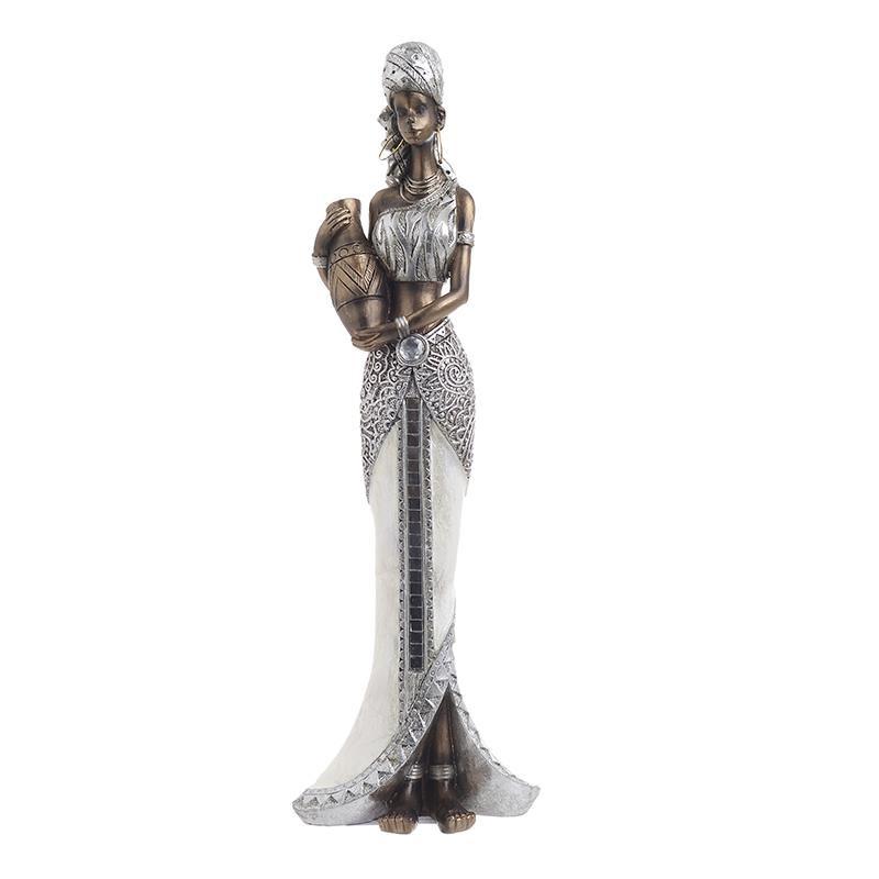 Διακοσμητικό Αγαλματίδιο Αφρικάνα 32 εκ.
