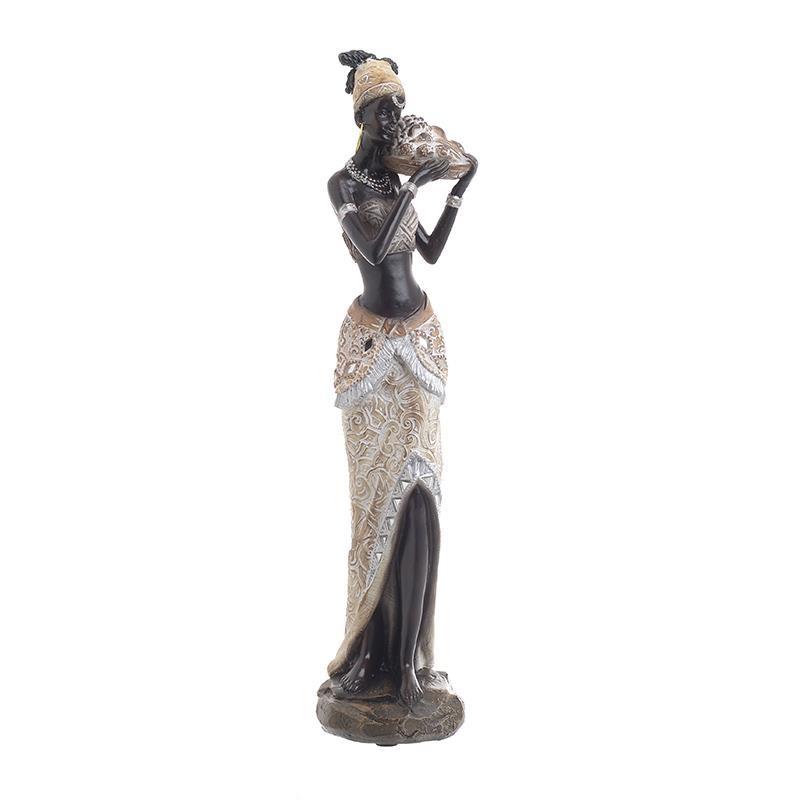 Διακοσμητικό Αγαλματίδιο Αφρικάνα 30 εκ.