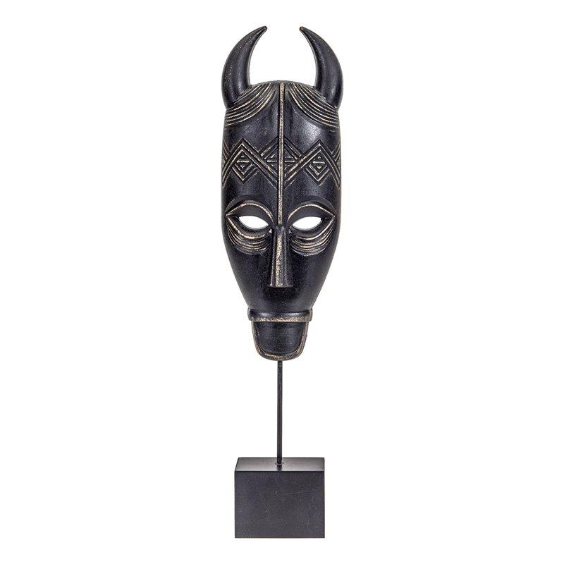 Διακοσμητική Μάσκα Ξύλινη 11x46 εκ.
