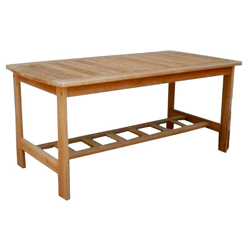 Τραπέζι Κήπου Ξύλο Acacia 100x60x45 εκ.
