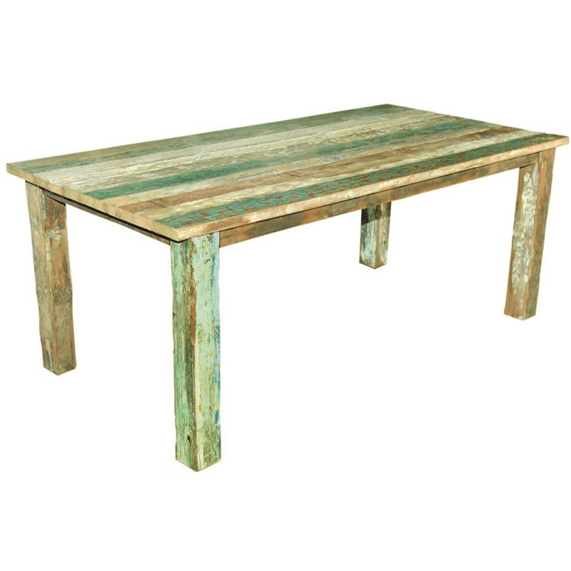 Bella Τραπέζι Κήπου Σταθερό Ξύλο Teak 200x100x78 εκ.