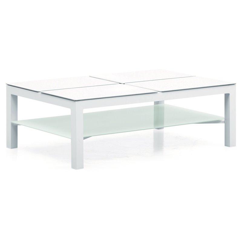 Τραπέζι Κήπου Ανοιγόμενο Αλουμίνιο 120x74x39 εκ.