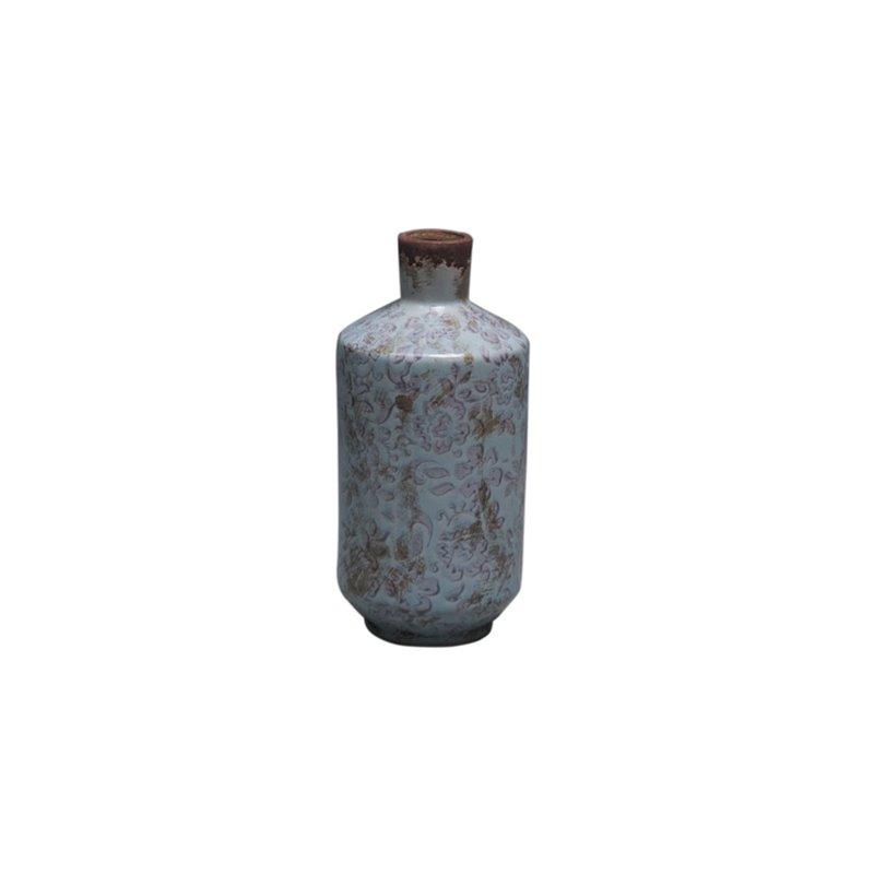Διακοσμητικό Βάζο Κεραμικό Φ9,5x19,5 εκ.