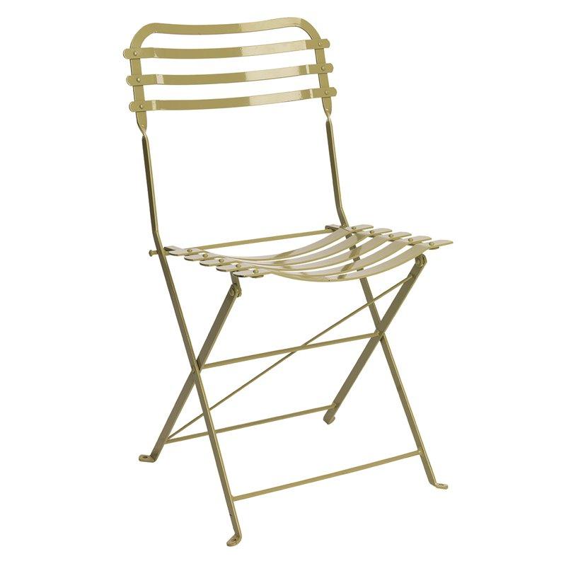 Καρέκλα Κήπου Μεταλλική Ζαππείου 45x45x84 εκ.