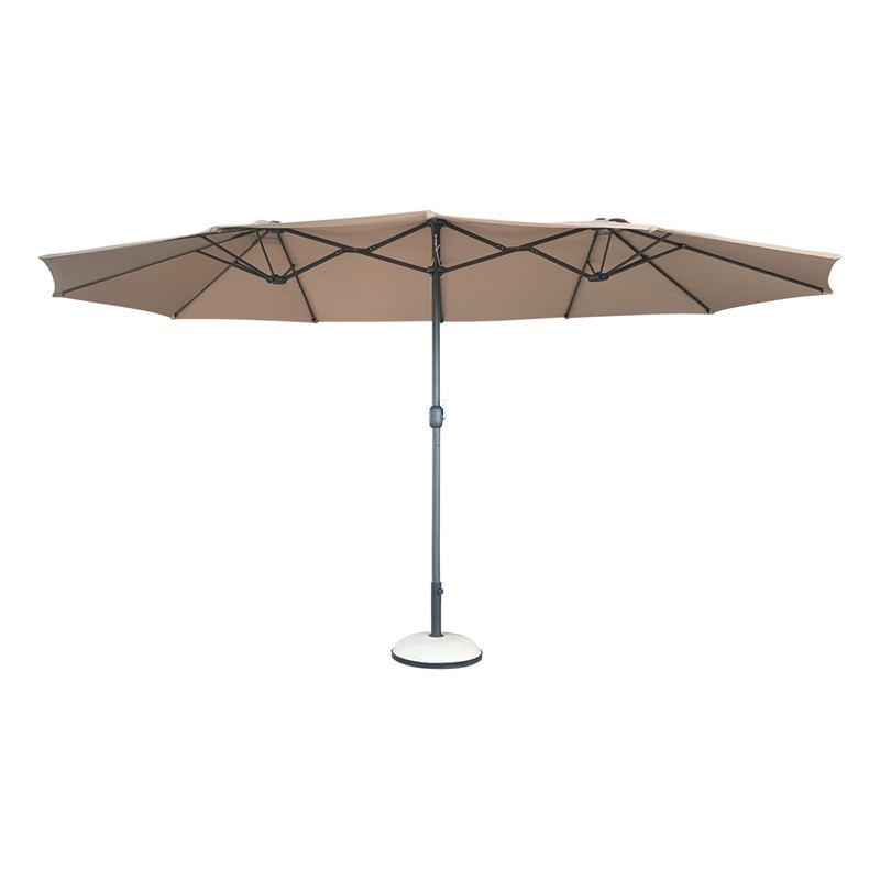 Ομπρέλα Κήπου Οβάλ Steel 270x450 εκ.