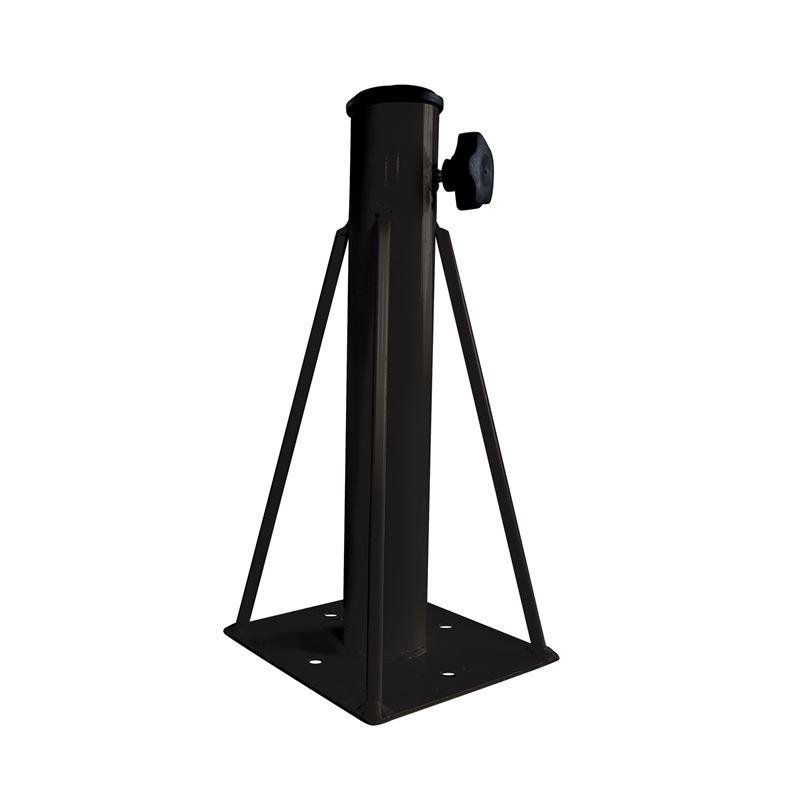 Βάση Ομπρέλας Εδάφους Steel 16,5x16,5x36 εκ.