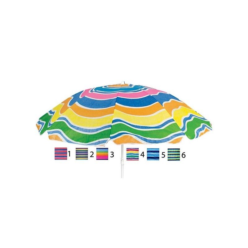 Ομπρέλα Παραλίας Φ180 εκ. 6...