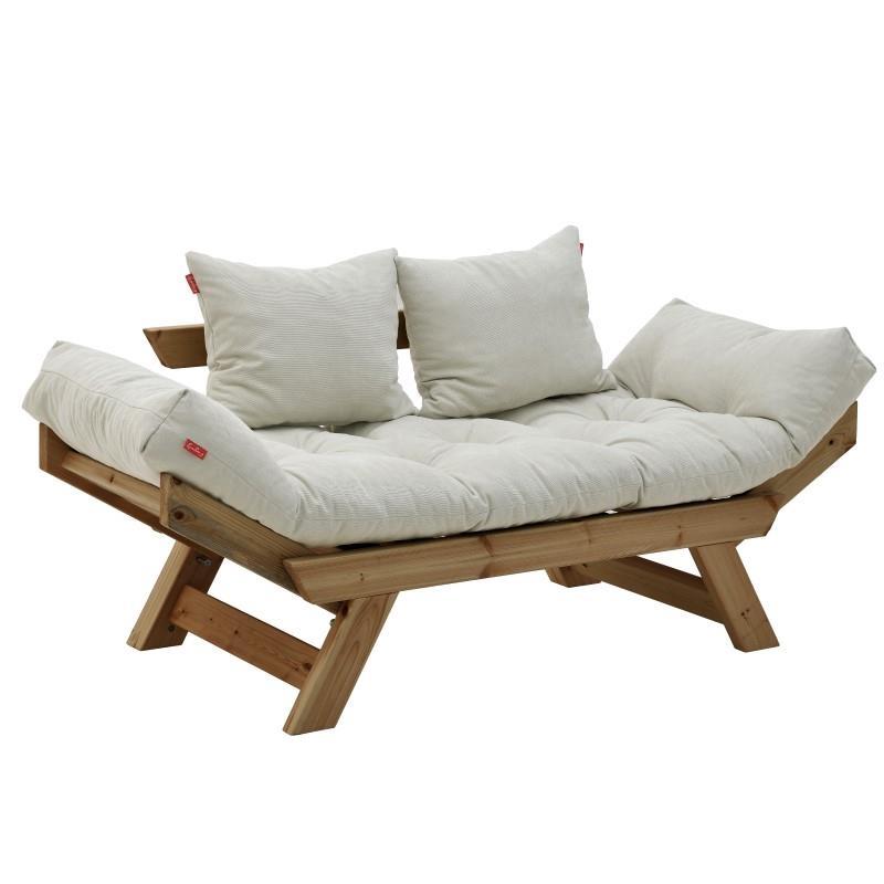 Καναπές Κήπου 2 Θέσεων Ξύλο...