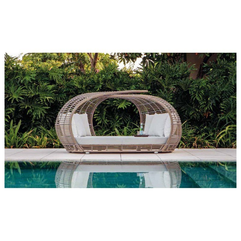 Daybed Κήπου Wicker...