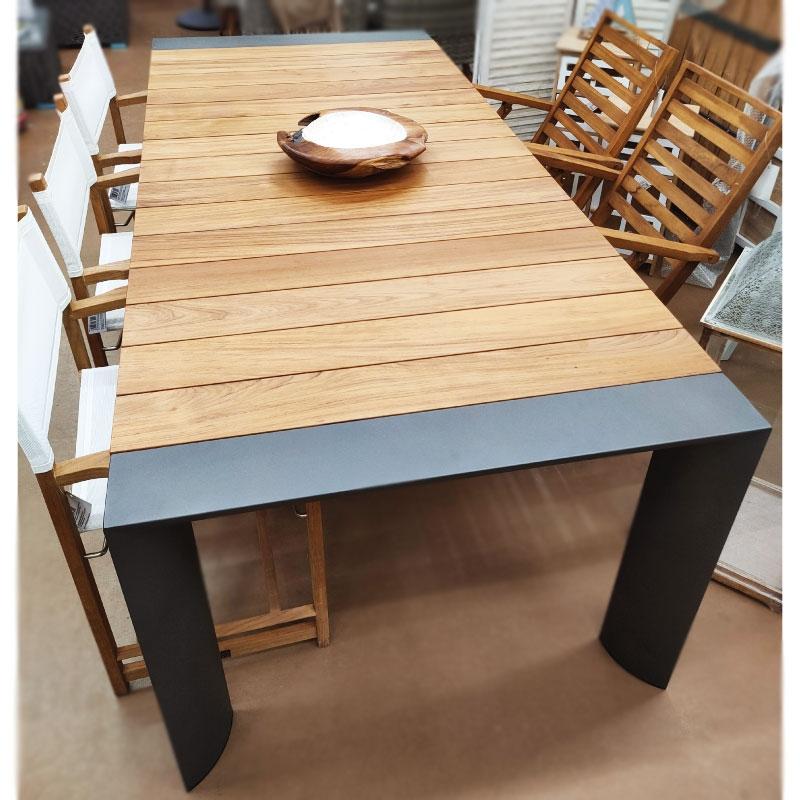 Τραπέζι Κήπου Ξύλο Teak...