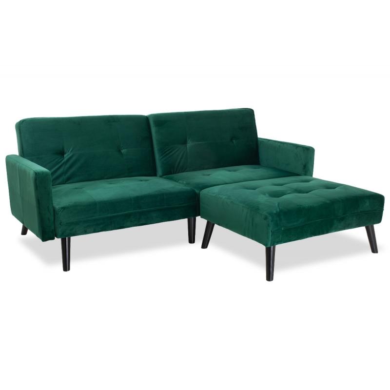 Γωνιακός καναπές-κρεβάτι με...