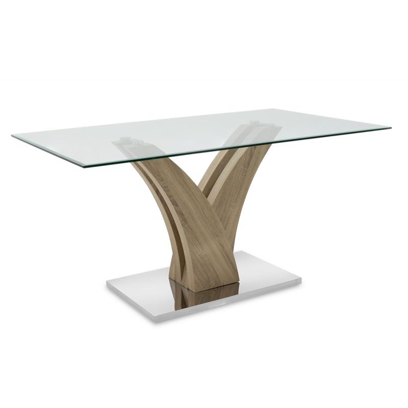 Τραπέζι Gull  γυαλί 10mm...