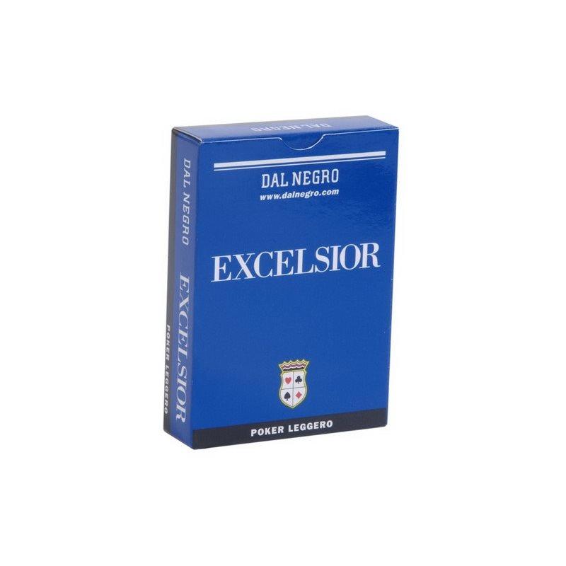 Τράπουλα Χάρτινη Dal Negro Excelsior Μπλε