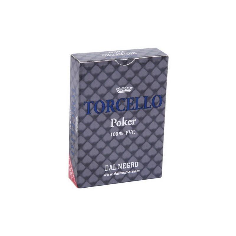 Τράπουλα Πλάστική 100% Dal Negro Torcello Μπλε
