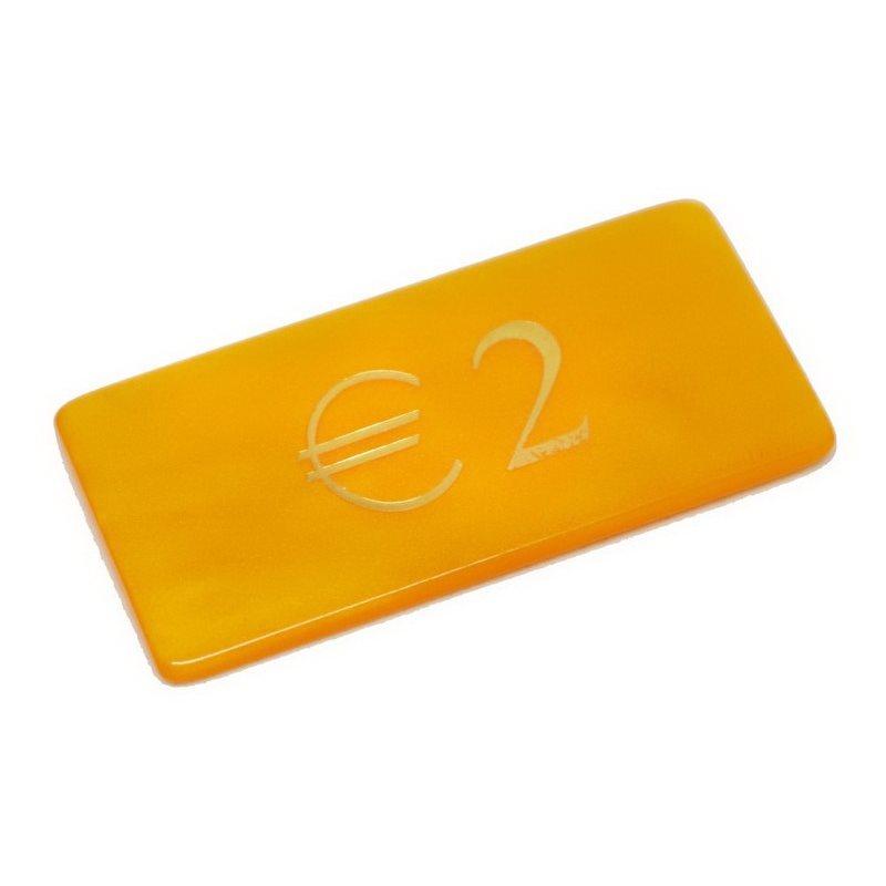 Μάρκες Poker Madreperla με αξία 2€