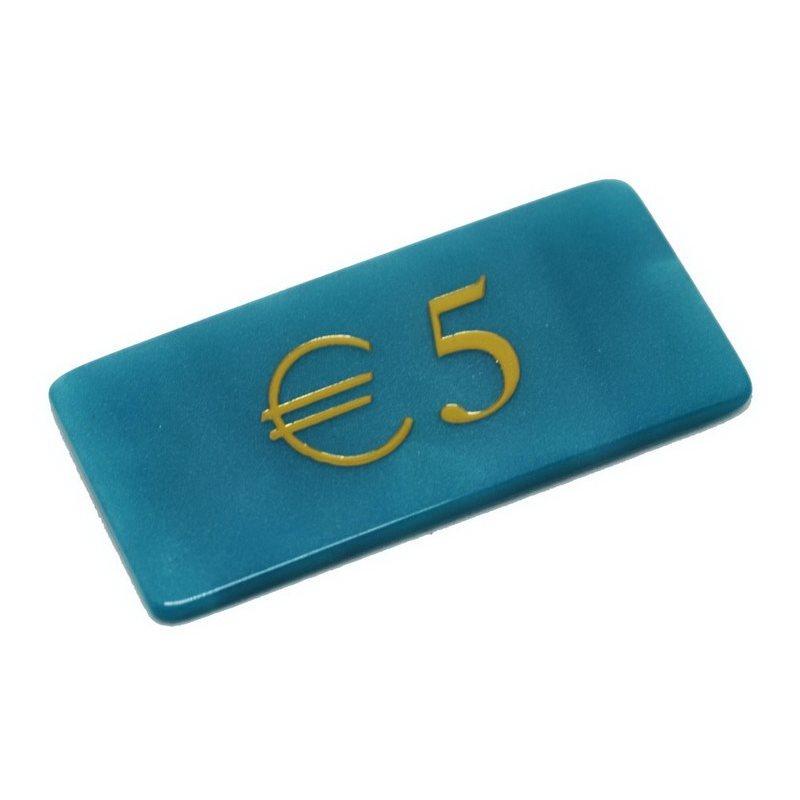 Μάρκες Poker Madreperla με αξία 5€