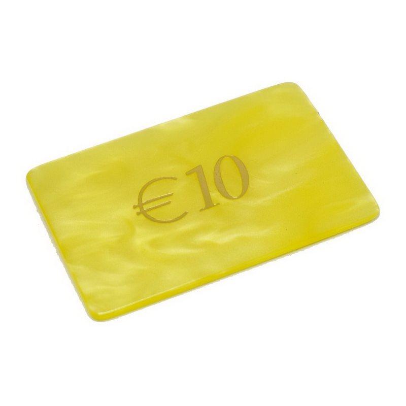 Μάρκες Poker Madreperla με αξία 10€