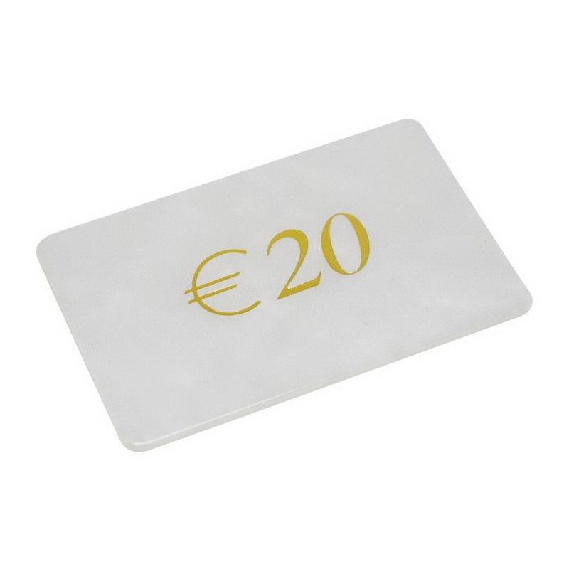 Μάρκες Poker Madreperla με αξία 20€