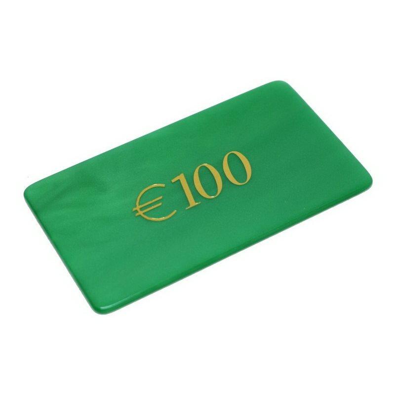 Μάρκες Poker Madreperla με αξία 100€
