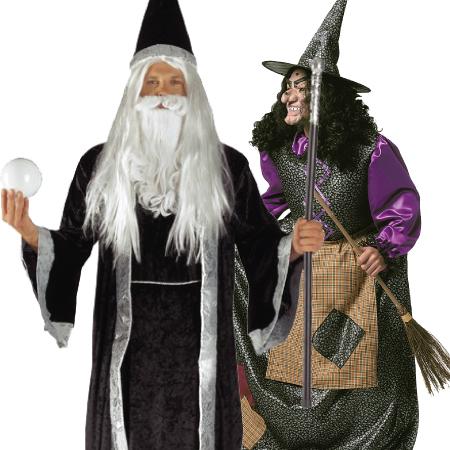 Αποκριάτικα Αξεσουάρ Μάγισσας-Μάγου