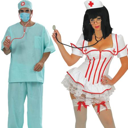 Αποκριάτικα Αξεσουάρ Γιατρού-Νοσοκόμας