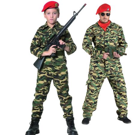 Αποκριάτικα Αξεσουάρ Army-Στρατιωτικά