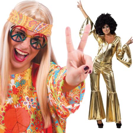 Αποκριάτικα Αξεσουάρ Disco -  Hippie