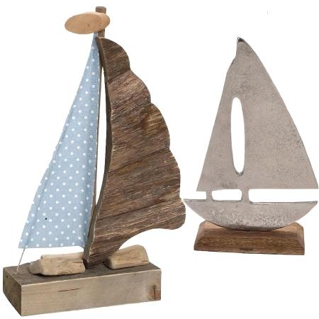 Διακοσμητικά Καράβια Ξύλινα