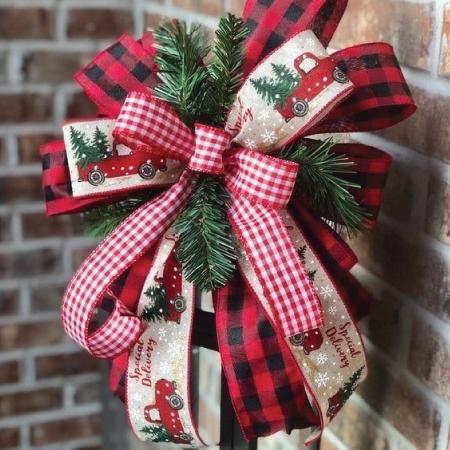 Χριστουγεννιάτικες Κορδέλες - Φιόγκοι | millenniumeshop.gr
