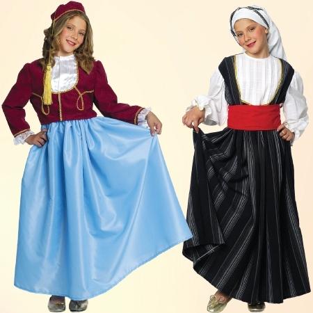 Παραδοσιακές Στολές Κοριτσιών